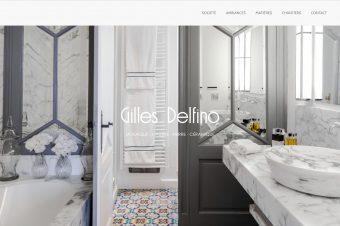 Site internet Gilles Delfino