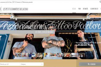 Site internet Les Petits Commerces de La Crau