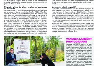 Publication sur le projet des Petits Commerces de La Crau